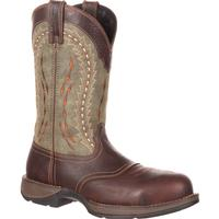 Rebel by Durango Composite Toe Saddle Western Boot, , medium