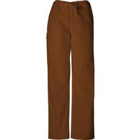 Pantalón corto Cherokee Unisex color Chocolate con cordón, , medium
