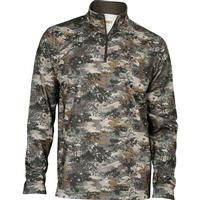 Rocky Venator Camo Fleece Zip Shirt, , medium