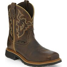 Justin Work Gypsy Women's 8 inch Composite Toe Electrical Hazard Waterproof Pull-on Western Work Boot