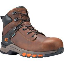 Timberland PRO Hypercharge Men's 6 inch Composite Toe Electrical Hazard Waterproof Leather Work Hiker