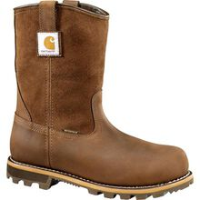 Carhartt Traditional Welt Men's Carbon Nano Toe Electrical Hazard Waterproof Pull-on Work Boots
