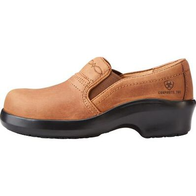 Ariat Expert Women's Composite Toe Static-Dissipative Slip-On Work Clog, , large