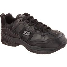 SKECHERS Work Soft Stride-Grinnel Men's Composite Toe Electrical Hazard Slip-Resistant Athletic Work Shoe