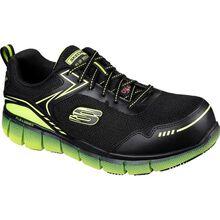 SKECHERS Work Telfin-Rieg Men's Composite Toe Electrical Hazard Puncture-Resisting Athletic Work Shoe