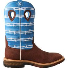 Twisted X CellStretch Men's 12-Inch Alloy Toe Electrical Hazard Western Work Boot