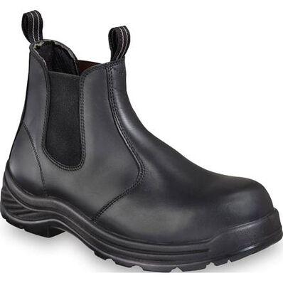 Thorogood Quick-Release Men's 6 inch Composite Toe Non-Metallic Slip-On Work Shoe, , large