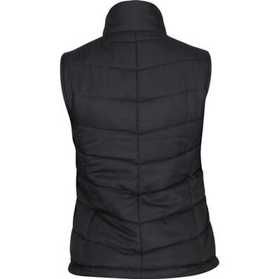 Rocky Women's Quilted Vest, BLACK, large