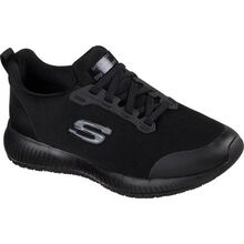 SKECHERS Work Squad Women's Slip Resistant Electrical Hazard Athletic Slip-On Work Shoe