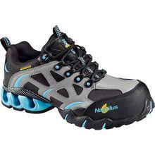Zapato de trabajo atlético Nautilus LoCut para mujeres con punta de material compuesto impermeable