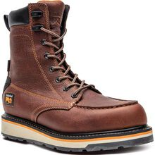 Timberland PRO Gridworks Men's 8-Inch Electrical Hazard Waterproof Leather Work Boot