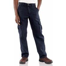 Pantalón de trabajo de carga resistente a las llamas Carhartt azul marino