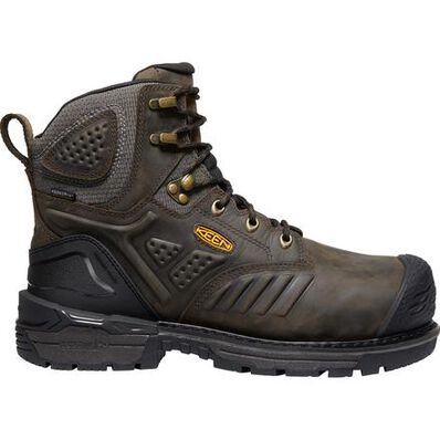 KEEN Utility® Philadelphia Men's CSA Carbon-Fiber Toe Internal Met Guard Waterproof Work Boot, , large