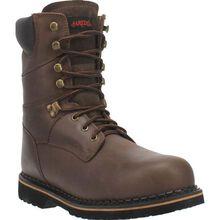 Laredo Men's 8-Inch Steel Toe Electrical Hazard Leather Work Boot