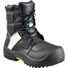 Bota de trabajo Baffin Premium Worker Hi-Viz con punta de material compuesto resistente a las perforaciones impermeable y placa aprobada por la CSA