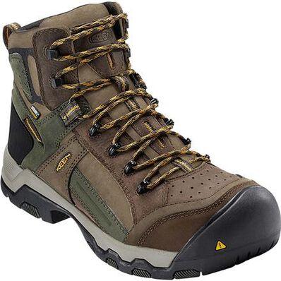 KEEN Utility® Davenport Al Composite Toe Waterproof Work Hiker, , large