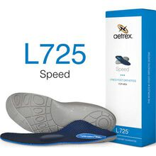Aetrex Speed Men's Low/Flat Arch with Metatarsal Support Orthotic