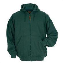 Sudadera con capucha forrada térmica verde Berne