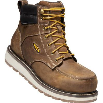 KEEN Utility® Cincinnati Men's Carbon Fiber Toe Electrical Hazard Waterproof Work Boot, , large