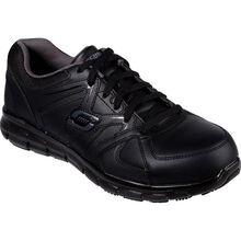 SKECHERS Work Synergy-Ekron Men's Alloy Toe Electrical Hazard Leather Athletic Work Shoe