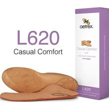 Aetrex Women's Casual Comfort Flat/Low Arch Posted Orthotic