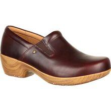 4Eursole Comfort 4Ever Women's Mahogany Slip-On Shoe