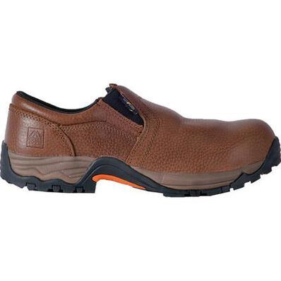 McRae Industrial Men's Composite Toe Electrical Hazard Internal Met Guard Slip-on Shoe, , large