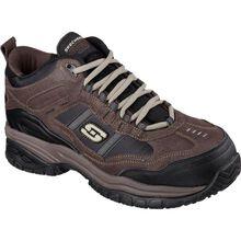 SKECHERS Work Soft Stride-Canopy Men's 5 inch Composite Toe Electrical Hazard Athletic Work Hiker