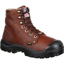 Steel Blue Argyle Bump Steel Toe Internal Met Guard Work Boot