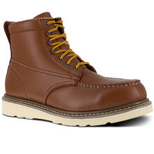 Iron Age Reinforcer Men's Steel Moc Toe Electrical Hazard Leather Work Boot