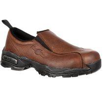 Zapato de trabajo sin cordones, desipativo estático con punta de acero Nautilus