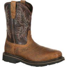 Ariat Sierra Wide Square Toe Steel Toe Puncture-Resistant Western Work Boot