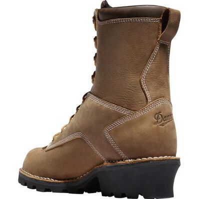 Danner Logger Men's 8 inch Composite Toe Electrical Hazard 400G Insulated Waterproof Work Boot, , large