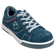 Calzado de gamuza con punta de acero LoCut con desipativo estático FootGuard Freestyle