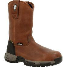 MICHELIN® HydroEdge Internal Metatarsal Alloy Toe Waterproof Pull On Work Boot