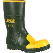 Bota de trabajo Lehigh Unisex con punta de acero y goma Hydroshock impermeable Lehigh Unisex Steel Toe Rubber Hydroshock Waterproof Work Boot