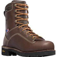 Danner Quarry USA Men's 8 Inch Electrical Hazard Waterproof Leather Work Boot