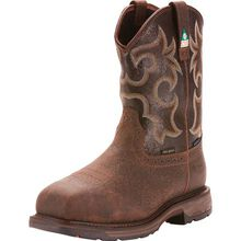 Ariat WorkHog Wide Square Men's 11 inch Composite Toe CSA Puncture Resistant Waterproof 600g Insulated Western Work Boot