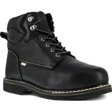 Iron Age Groundbreaker Men's 6 inch Steel Toe Electrical Hazard Internal Met Guard Work Boot