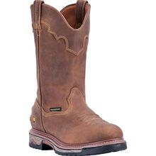 Dan Post Journeyman Men's Composite Toe Electrical Hazard Waterproof Western Work Pull-on Boot