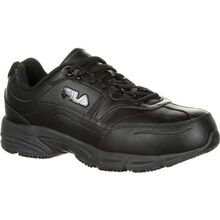 Fila Memory Workshift Composite Toe Slip-Resistant Work Athletic Shoe