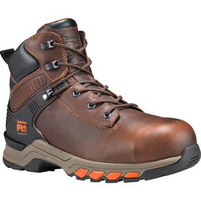 Timberland PRO Hypercharge Men's 6 inch Composite Toe Electrical Hazard Work Hiker, , large