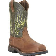 Ariat Workhog Mesteno H2O Composite Toe Waterproof Western Work Wellington