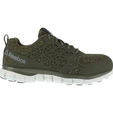 Reebok Sublite Cushion Work Women's Composite Toe Electrical Hazard Athletic Work Shoe, , large