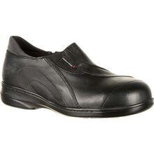 Suave caminata Daisy sin cordones acero punta SD trabajo el zapato