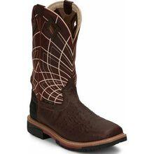 Justin Work Hybred® Derrickman Ostrich Men's Composite Toe Electrical Hazard Waterproof Work Boots