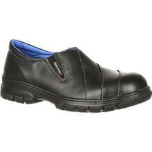 Suave caminata Maddy sin cordones puntera de acero PR el zapato