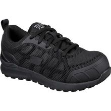 SKECHERS Work Bulklin-Ayak Women's Composite Toe Electrical Hazard Puncture-Resisting Athletic Work Shoe