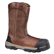 Carhartt Ground Force Men's 10 Inch Composite Toe Waterproof Electrical Hazard Pull On Work Boot