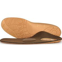 Aetrex Men's Compete Flat/Low Arch Posted Metatarsal Support Orthotic for Athletic Shoes
